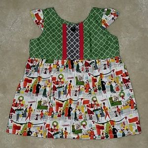 Boutique Holiday Dress 6-12m